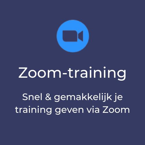 Zoom-training